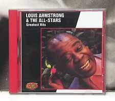 LOUIS ARMSTRONG & THE ALL STARS - GREATEST HITS CD COME NUOVO