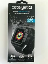 Catalyst Waterproof Case for Apple Watch 42mm series 3 & 2-Black