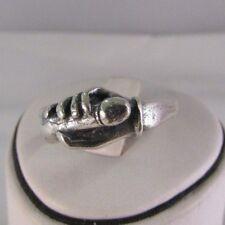 "Anello argento ""handjob"" gr 5,8 sexy jewels misura 22"
