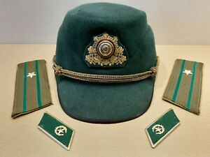 Unique Soviet Felt Hat Border officer Guard Cap. USSR Individual order Original