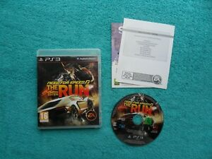 NEED FOR SPEED the run - ps3 / sony playstation 3