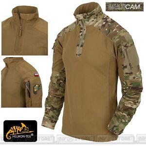 Combat Shirt HELIKON-TEX MCDU NYCO Maglia Tattica Militare COYOTE - MULTICAM