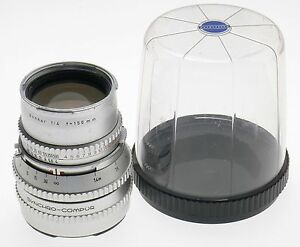HASSELBLAD ZEISS SONNAR CHROME f=150mm FITS 500 C/M CAMERA CAPS 1:4/150mm KEEPER