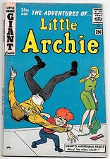 Little Archie #24 (1962; fn+ 6.5) 68 pages - guide value: $23.00 (£18.00)
