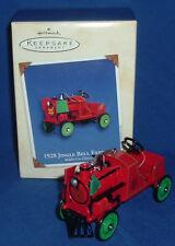 Hallmark Ornament Kiddie Car Classics 2002 1928 Jingle Bell Express Pedal Train