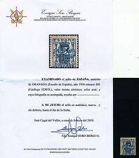 España - Correo- Año: 1936 - numero 00801 - ** Granada Bonito sello / certificad