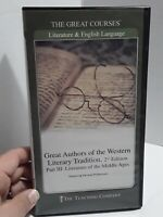 Great Authors of Western Literary Tradition 2nd Edition Part 3 Great Courses DVD
