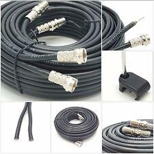 2m SKY+ or HD twin shotgun Satellite cable black NEW ! TV Satellite coax cable