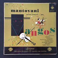 Mantovani And His Orchestra – Mantovani Plays Tangos 1953 Vinyl LP Record