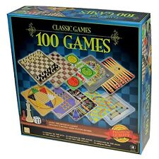 100 Games Classic Board Games Chess Snake & Ladder Ludo Backgammon Checkers