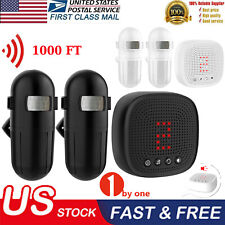 Wireless Driveway Alert Alarm System Infrared Motion Sensor Security Thanksgivin