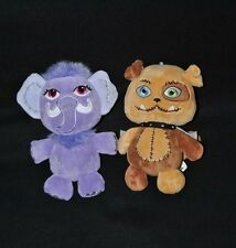 Lot 2 Peluche Doudou Beans Shiver & Beans Watzit GIPSY Monster High 20 cm NEUF
