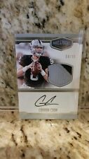 CONNOR COOK 2016 PANINI PLATES & PATCHES ROOKIE JERSEY AUTOGRAPH  #'rd 54/99 !!