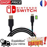 Câble chargeur USB / USB-C Type C 3.1 pour Nintendo SWITCH (NEUF)