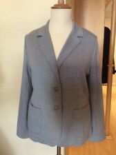 Olsen Jacket Size 20 BNWT Grey Soft Material RRP £99 Now £45