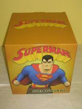SUPERMAN RESIN BUST - Animated Series - #1471 of 3,000 - Diamond Select - NEW