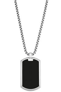 S.Oliver Jewelry Men's Necklace Stainless Steel 2028415