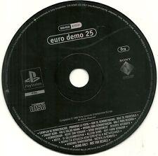 JEU PS1 - PLAYSTATION 1 : EURO DEMO 25 / PAS DE BOITE - NO BOX