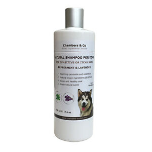 Best Natural Shampoo for Dogs Sensitive or Itchy Skin with Essential Oils 500ml