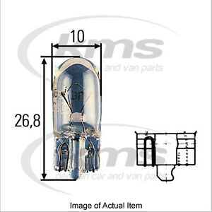 10x New Genuine HELLA Indicator Flasher Bulb 8GP 003 594-121 MK4 Top German Qual