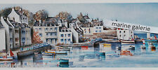 Belle - Ile affiche mer poster breton peinture décoration marine à encadrer Neuf