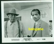 JACK NICHOLSON JOHN HUSTON VINTAGE 8X10 PHOTO 1974 CHINATOWN