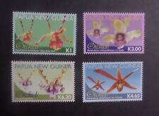 Papua New Guinea 2010 Orchid Flowers SG1432/5 MNH UM unmounted