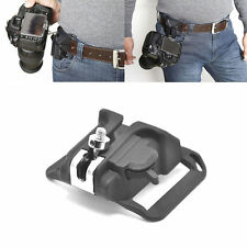 Fast Quick Release Camera Holster Waist Belt Button Mount Clip For DSLR Camera