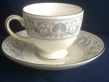 Wedgwood Dolphins tea cup & saucer (minor rim gilt wear & marks inside cup) B