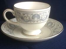 Wedgwood Dolphins tea cup & saucer (minor rim gilt wear & marks inside cup) B