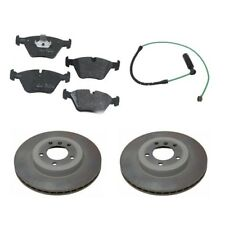 BMW E46 330Ci 330xi 330i Front Vented Brake Disc with Pads and Sensor Kit