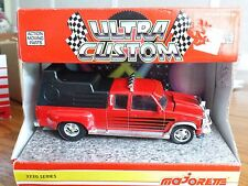 Majorette Chevy Custom Dually & Camper Top 1:32 Scale Die Cast Chevrolet