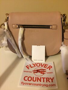 NWT Marc Jacobs Recruit Saddle Bag Leather W Magnetic Closure Free Shipping