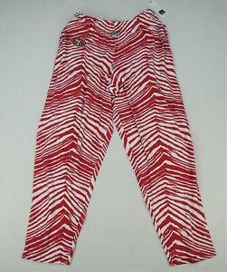 San Francisco 49ers NFL Zubaz Men's Zebra Striped Pants