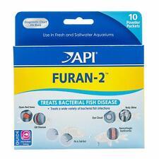 API Furan-2 Fish Powder Medication 10-Count Box