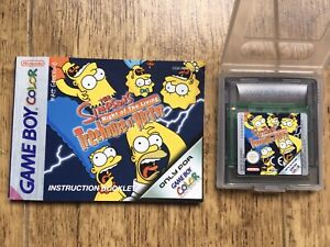 Simpsons Treehouse Of Horror Gameboy Game! Look In The Shop!