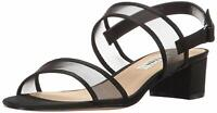 Nina Womens Ganice Fabric Open Toe Casual Ankle Strap Sandals