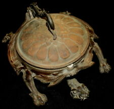 Antique Turtle Spittoon by Bradley & Hubbard, ca 1880s, from Western Pa Saloon