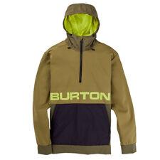 Burton Crown Bonded Performance Hoodie Mens Ochre
