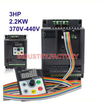 3HP 2.2KW Variable Frequency Drive Inverter VFD 5.8A 380V for CNC motor 3Phase