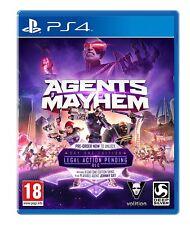 Agenti di Mayhem Day One Edition un'azione legale in Corso DLC 6 Skins + JOHNNY GAT PS4
