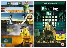 BREAKING BAD COMPLETE SEASON 1-5 DVD BOX SET COLLECTION UK Release NEW Sealed R2