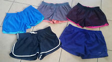 5 Pair Of Women's Shorts, Gym, Exercise, Workout, Xl & Xxl, Reversible,Champion