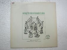 SARANGI THE VOICE OF HUNDRED COLORS MUSIC OF NORTH INDIA   LP CLASSICAL MINT