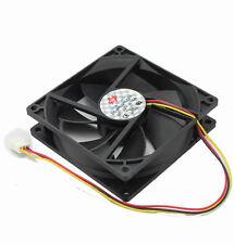 10pcs Lot DC 12V 3Pin 90mm 92x92x25mm Computer Cooling Exhaust Fan CPU Fan