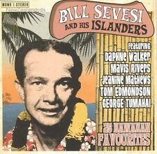 Bill Sevesi 25 Hawaiian Favourites 1960s Steel Guitar , New Zealand cd