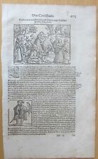 MÃœNster/Munster: Cosmographia Germany Four Classes - 1628