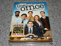 THE OFFICE Season Seven 7 (2011, 5-Disc DVD Set With Poster) Widescreen SEALED