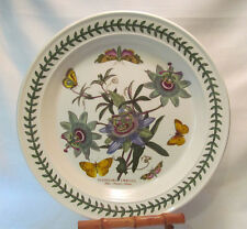 "Portmeirion Botanic Garden BLUE PASSION FLOWER 12"" Deep Round Platter"