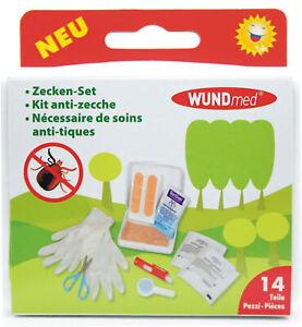 Zecken-Set Zeckenzange Zeckenpinzette Zeckengreifer Zeckenentferner 14 teilig